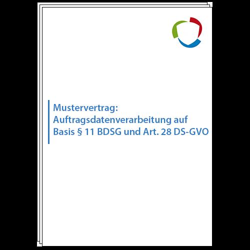 Mustervertrag Auftragsdatenverarbeitung Auf Basis 11 Bdsg Und Art